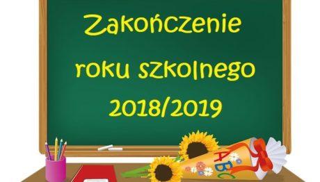 zakończenie roku 2018-19